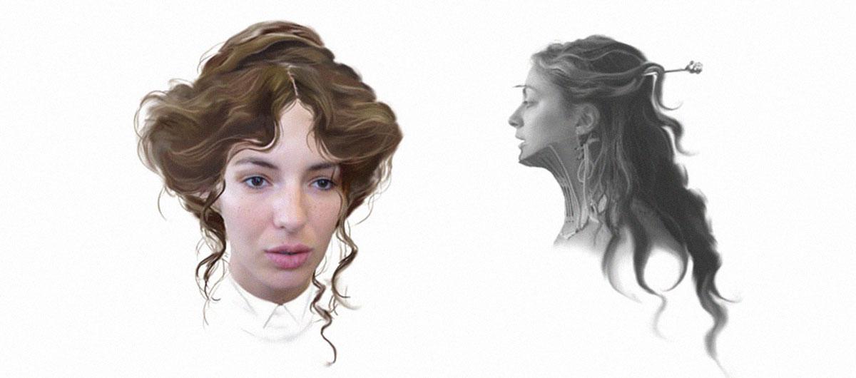 Adèle blanc sec / Besson Luc – Coiffures / Ghislaine Tortereau - 1